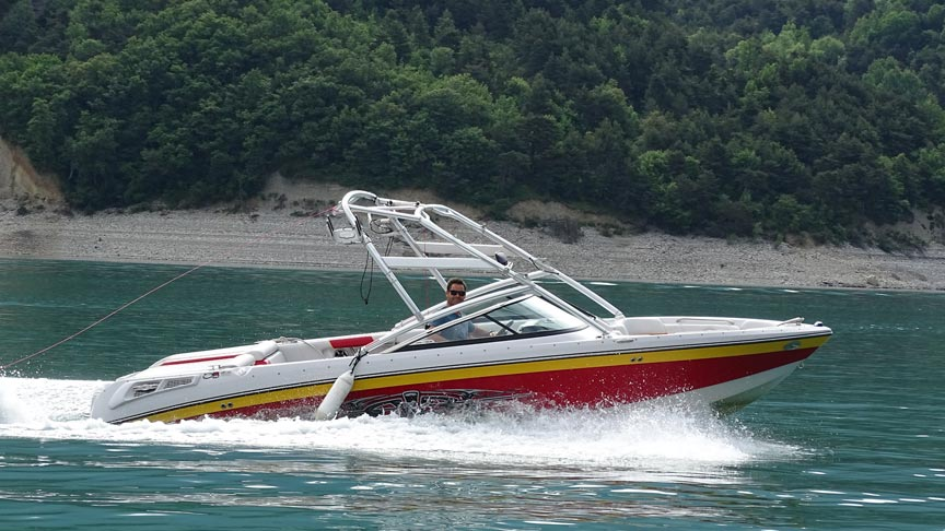 Nouveau bateau, le Correcraft 236 - Wake it easy Treffort
