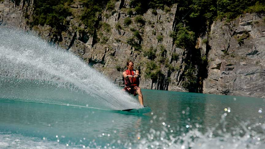 Wakeboard Lac de Monteynard - Grenoble - Wakeiteasy